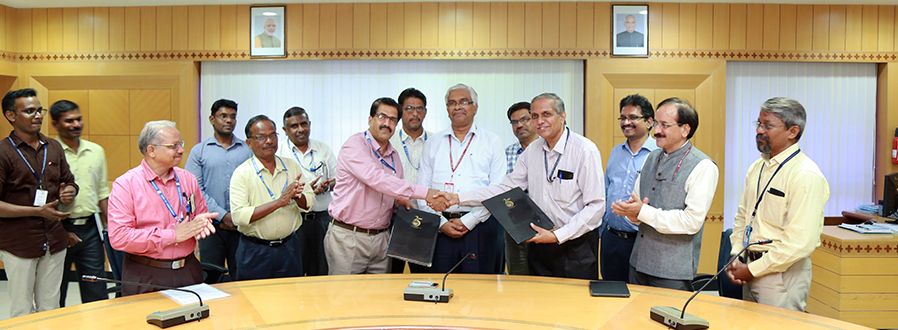 ICAR-CIBA Signs MoU with Ministry of Earth Sciences (ESSO)-NIOT at Chennai for technical partnership in the promotion of aquaculture in the country, on Tuesday September 25, 2018