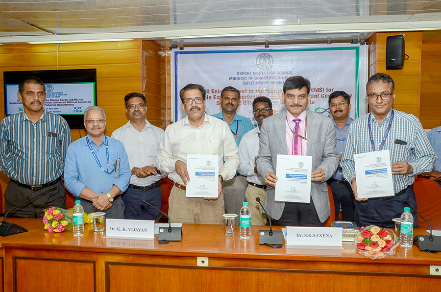 export-inspection-council-eic-govt-of-india-and-icar-central-institute-of-brackishwater-aquaculture-ciba-chennai-jointly-conducted-skill-enhancement-programme-for-fisheries-officials