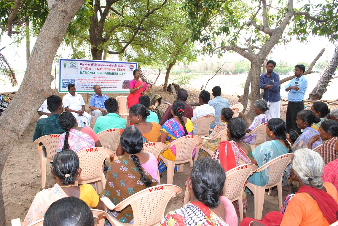 ICAR-CIBA celebrated National Fish Farmers Day on 10th July