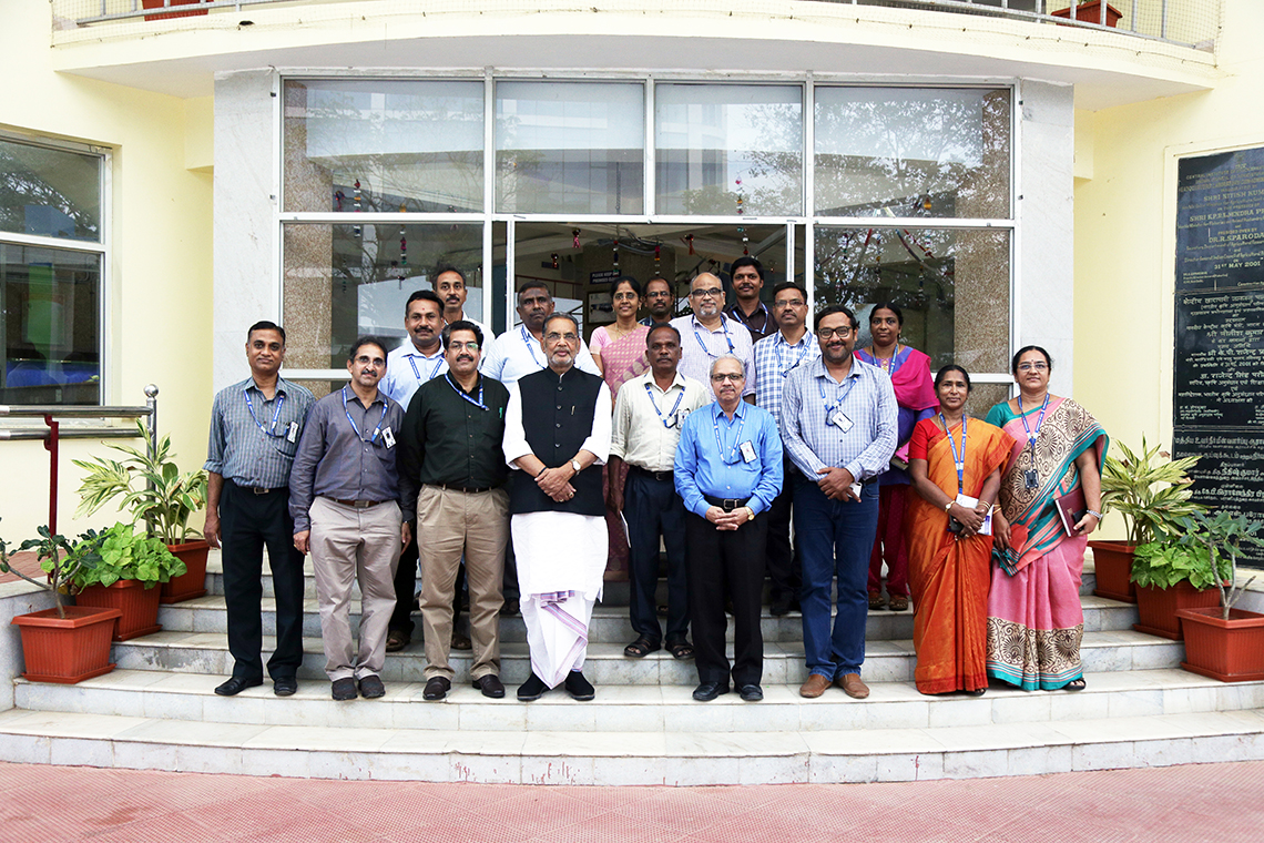 Shri. Radha Mohan Singh, Honourable Former Union Minister of Agriculture & Farmers Welfare and the Member of Parliament and Chairperson, Parliamentary Standing Committee on Railways visited ICAR-CIBA on 6th January 2020